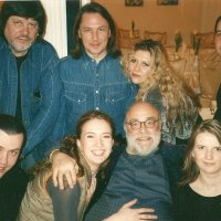 "Demis Roussos & Andrey Denisov's  ""ABand"" in tour. After a concert."