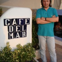 "Andrey Denisov, ""Cafe del Mar"", Ibiza, Spain (2007)."