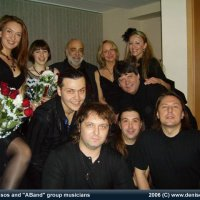 "Moscow International House of Music, Russia.   Demis Roussos & Andrey Denisov's  ""ABand""."
